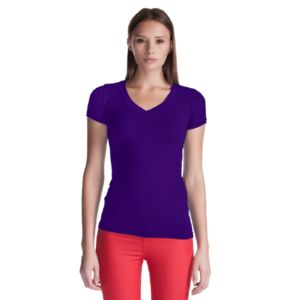 Bamboo Stretch Deep V-Neck Thumbnail