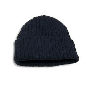 Cotton/Acrylic Rib Knit Toque with Cuff Thumbnail