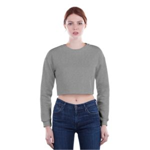 Ladies Crop Sweatshirt Thumbnail