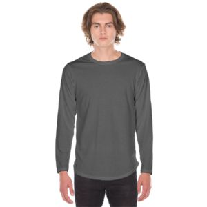 Long Sleeve Scoop Bottom Tee Thumbnail